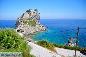 Agios Ioannis Kastri | Mamma Mia kerkje Skopelos | Sporaden Griekse Gids 36 - Foto van De Griekse Gids